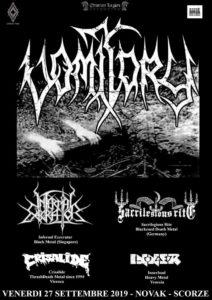 INNERLOAD + Vomitory + Infernal Execrator + Sacrilegious Rite + Crisalide